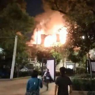 No se reportaron lesionados por el incendio en la Universidad de Londres