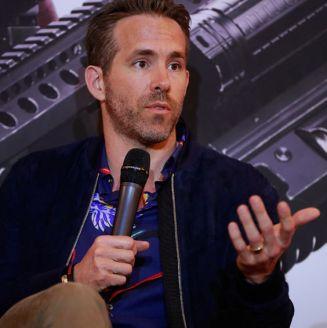 Ryan Reynolds, en conferencia de prensa en la CDMX