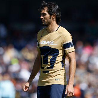 Alejandro Arribas, durante un juego con Pumas en el C2018