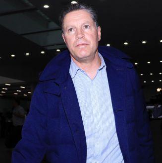 Peláez arriba al aeropuerto de la CDMX
