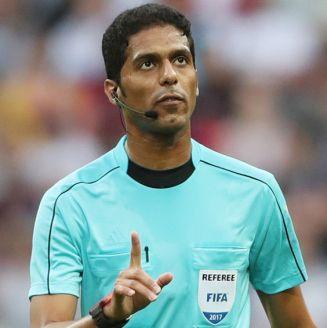 Fahd al Mirdasi, durante un partido