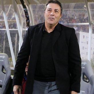 Frank Kudelka en un partido con Talleres de Córdoba