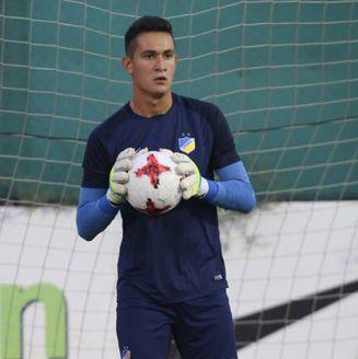 Raúl Gudiño defendió la cabaña del APOEL en la pasada temporada