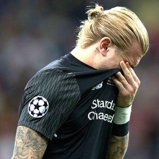 Karius llora tras perder la Final de Champions League