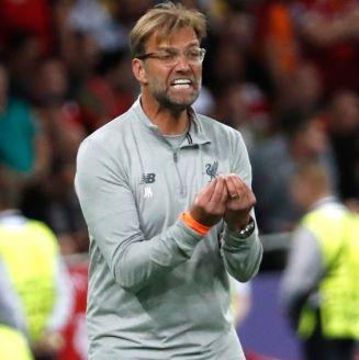 Klopp se queja durante la Final de la Champions League