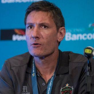 Gabriel Caballero, en conferencia de prensa
