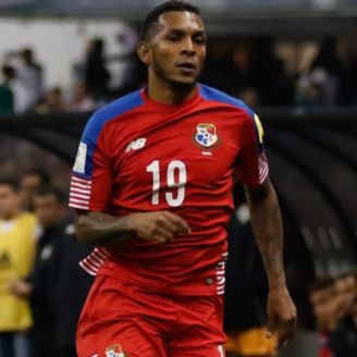 Alberto Quintero, durante un partido con Panamá