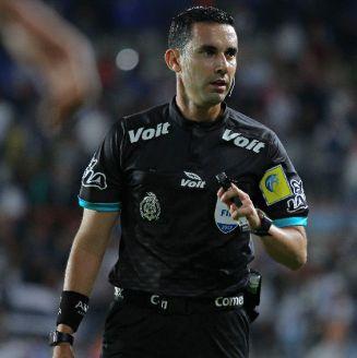 Ramos Palazuelos, en un juego de la Liga MX