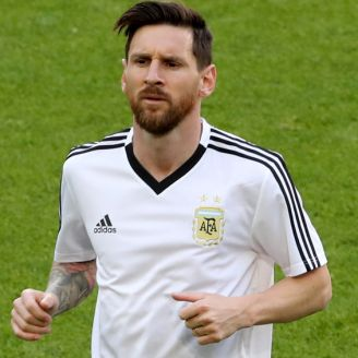 Messi caliente previo al duelo contra Islandia
