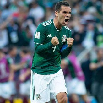 Rafael Márquez celebra histórico triunfo contra Alemania