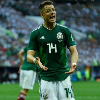 Hernández disputa el duelo contra Alemania en Rusia