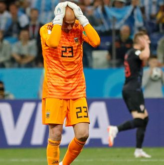 Caballero lamenta terrible error vs Croacia