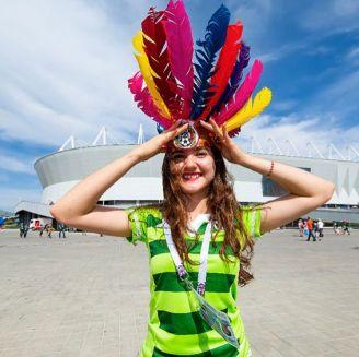 Los seguidores de México inundan la Arena Rostov, en Rusia