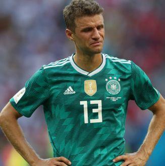 Müller lamenta la eliminación de Alemania de Rusia 2018