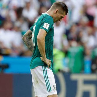 Kroos se lamenta tras la derrota frente a Corea del Sur