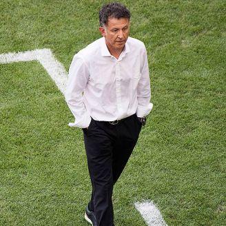 Osorio camina en su área técnica