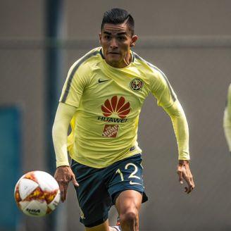 Luis Reyes, entrena con América en Coapa