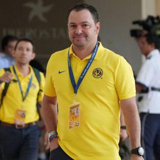 Santiago Baños, durante draft previo al Apertura 2018