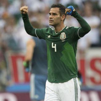 Márquez festeja con Selección Mexicana