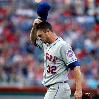 Jugador de los Mets se lamenta tras la derrota ante los Nacionales de Washington