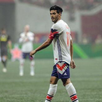 Carlos Vela en un juego de la MLS