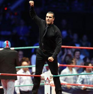 Alberto del Río durante una función en Triplemanía XXII
