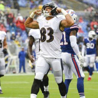 Willie Snead celebra su touchdown