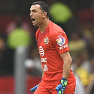 Agustín Marchesín durante un encuentro contra Pumas