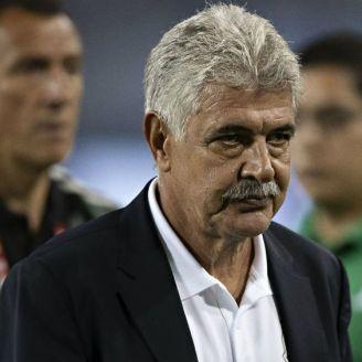 Ferretti después de un partido de México