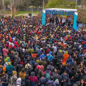Los fans chilenos vitorearon a su campeón, Kaos Latin Gamers