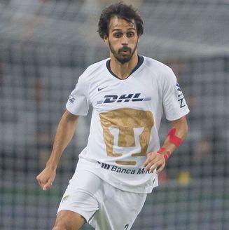 Alejandro Arribas, en juego de Pumas