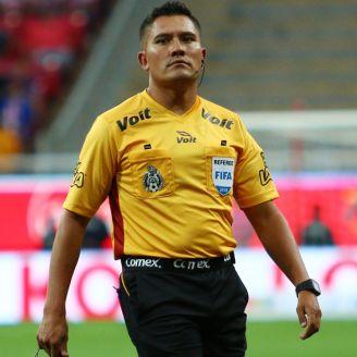 Guerrero, durante un duelo de la Liga MX en el A2018