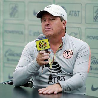 Miguel Herrera, en conferencia de prensa