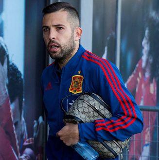 Jordi Alba regresó a convocatoria con España luego meses de ausencia