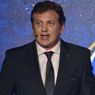 Domínguez, en conferencia de prensa