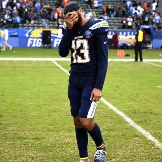 Keenan Allen en lamento tras su derrota frente a Broncos