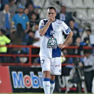 Chaco Giménez, conmovido en su último partido