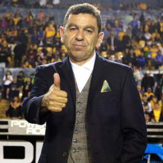 David Patiño durante un encuentro ante Tigres