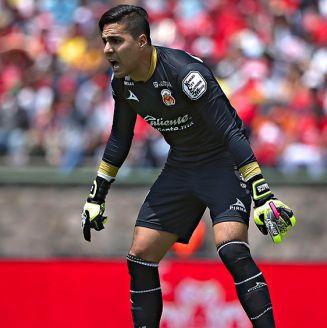Felipe Rodríguez, durante un juego con Atlético San Luis