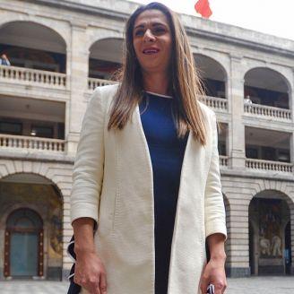 Ana Guevara, en su nombramiento como directora de la Conade