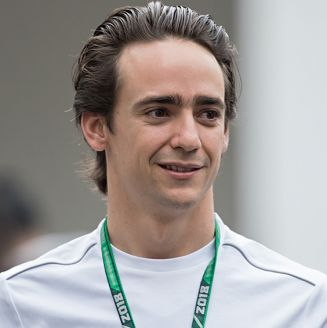 Esteban Gutiérrez, durante pruebas para el GP de México 2018