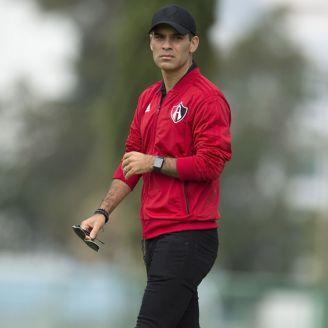 Rafa Márquez, en las instalaciones de Atlas