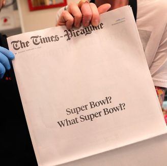 Portada del The Times-Picayune