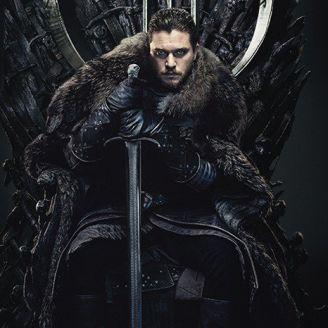 Jon Snow, en el trono de hierro