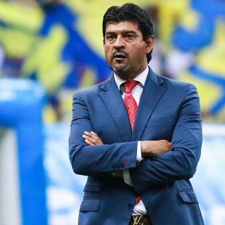 José Cardozo, durante el partido contra América en Copa MX