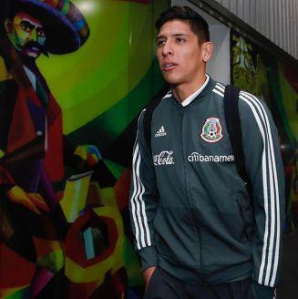Edson Álvarez arriba a la Ciudad de México