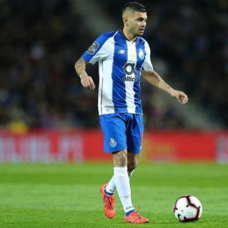 Corona, en un partido del Porto