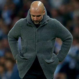 Guardiola se lamenta en juego contra Tottenham