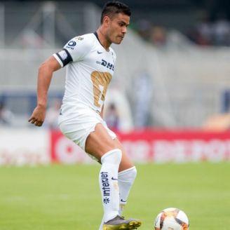 Barrera, durante el partido contra Toluca