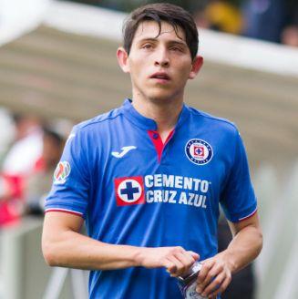 Alexis Gutiérrez durante un partido con Cruz Azul Sub 20